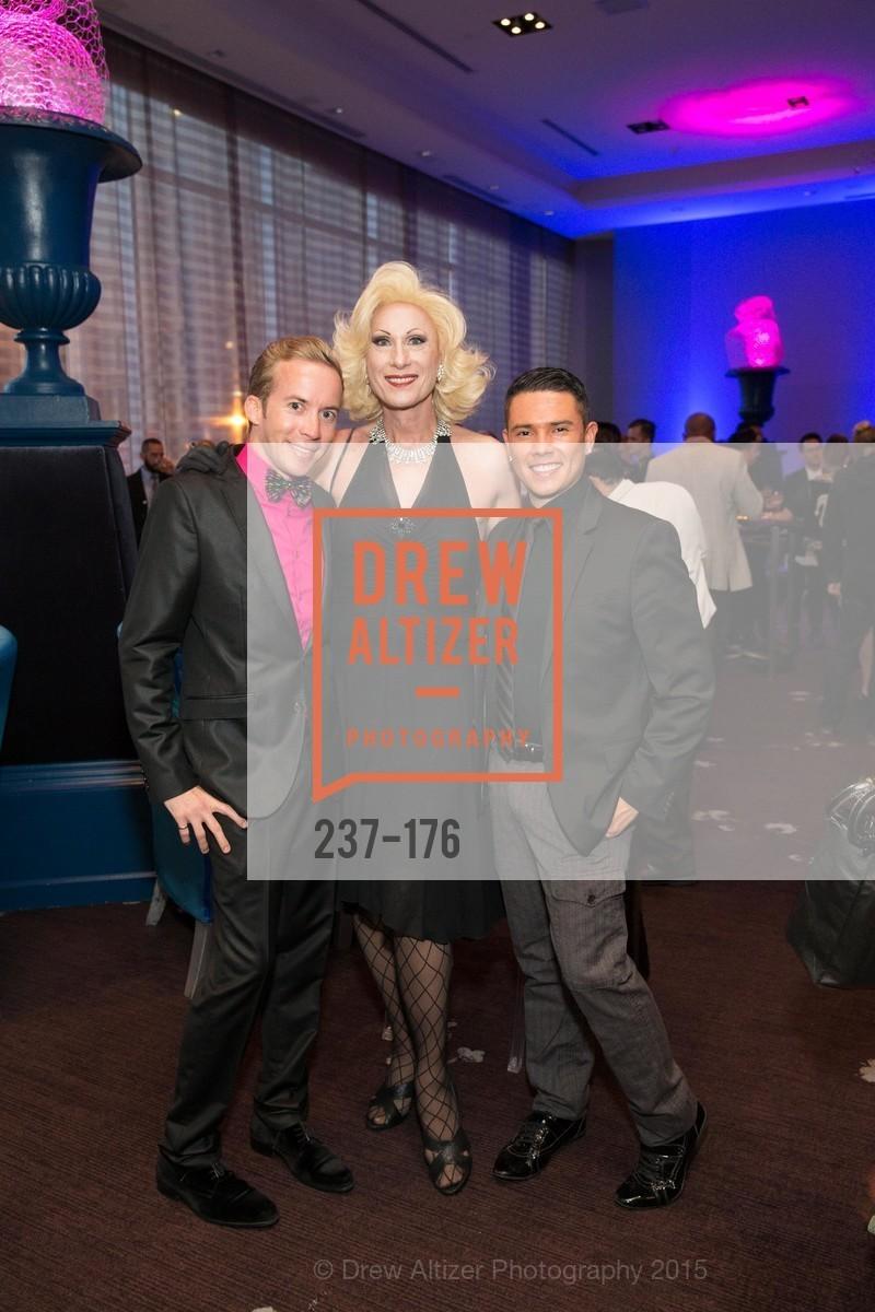 Skye Patterson, Donna Sachet, Oscar Enriquez, VIP Pride Celebration 2015, St. Regis, June 18th, 2015,Drew Altizer, Drew Altizer Photography, full-service agency, private events, San Francisco photographer, photographer california