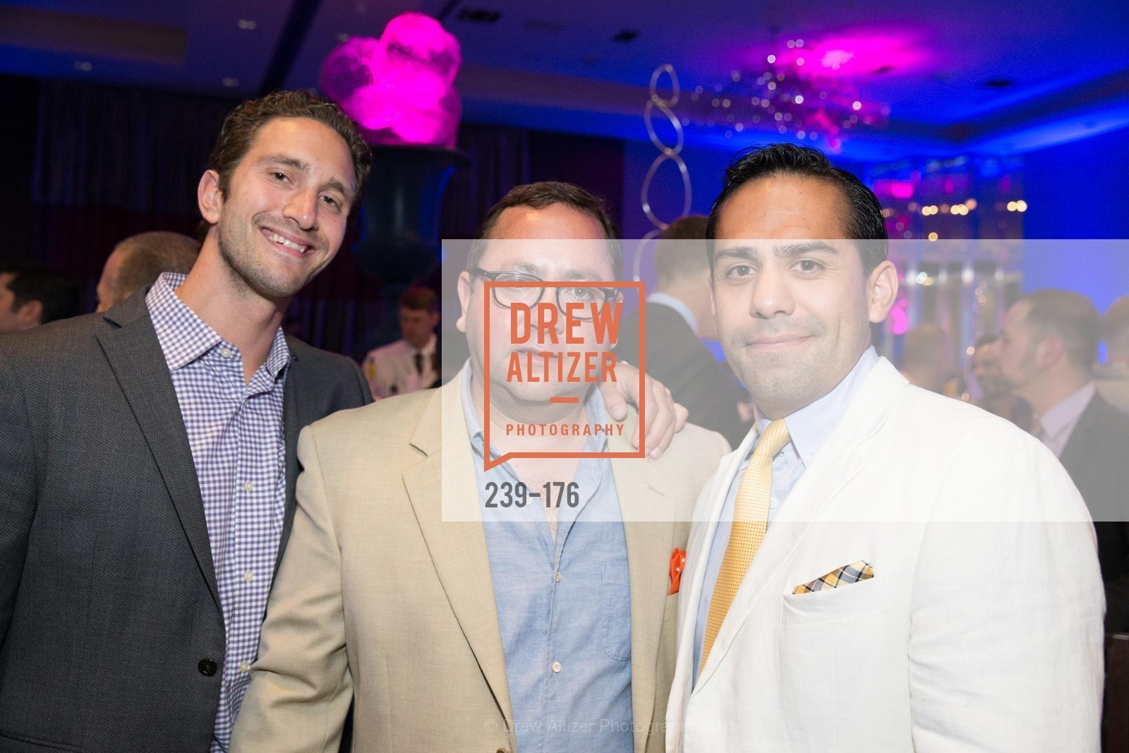Craig Ramszel, Oscar Escobar, Matias Acosta, VIP Pride Celebration 2015, St. Regis, June 18th, 2015,Drew Altizer, Drew Altizer Photography, full-service agency, private events, San Francisco photographer, photographer california