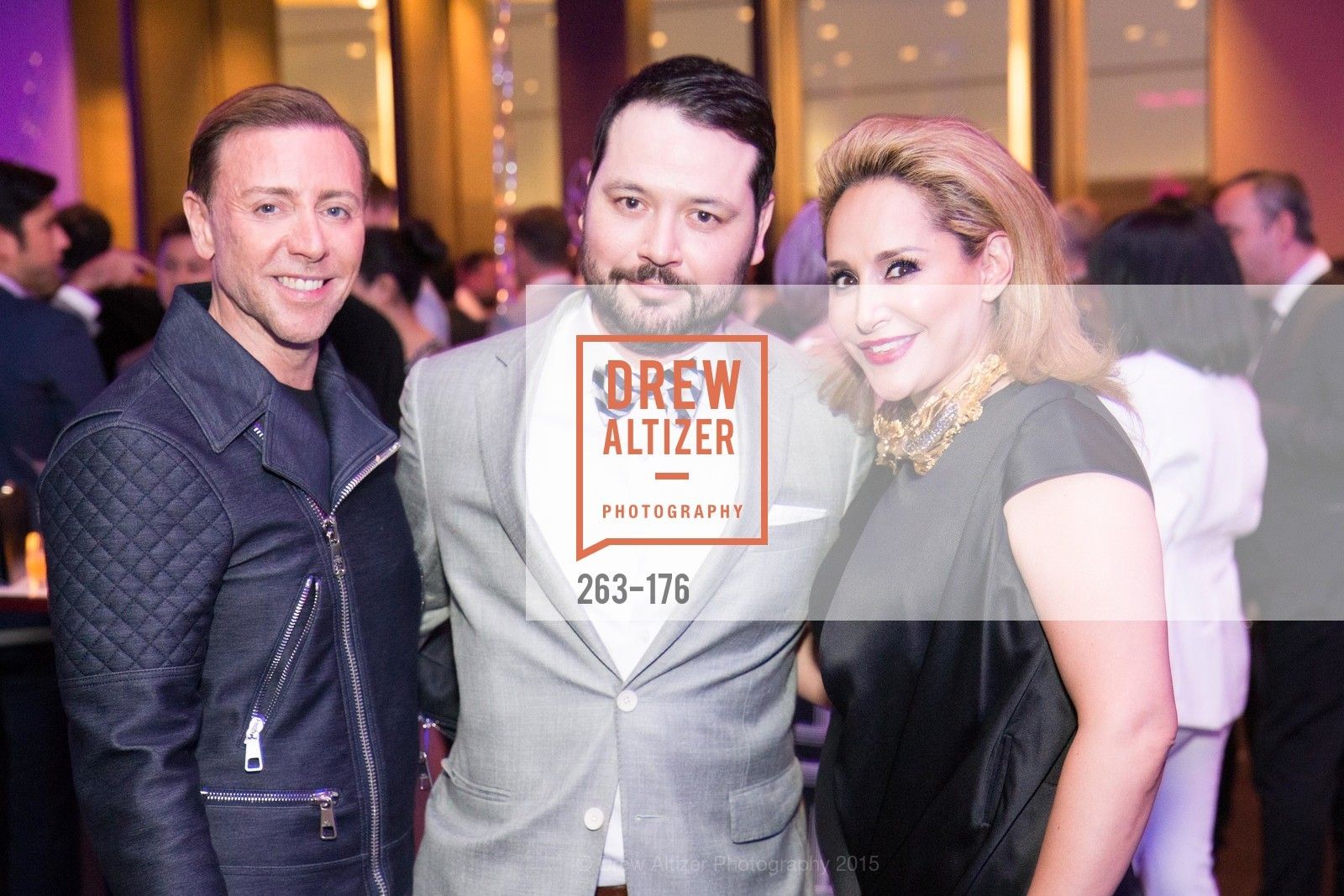 Mark Rhoades, Brandon Hernandez, Brenda Zarate, VIP Pride Celebration 2015, St. Regis, June 18th, 2015,Drew Altizer, Drew Altizer Photography, full-service agency, private events, San Francisco photographer, photographer california