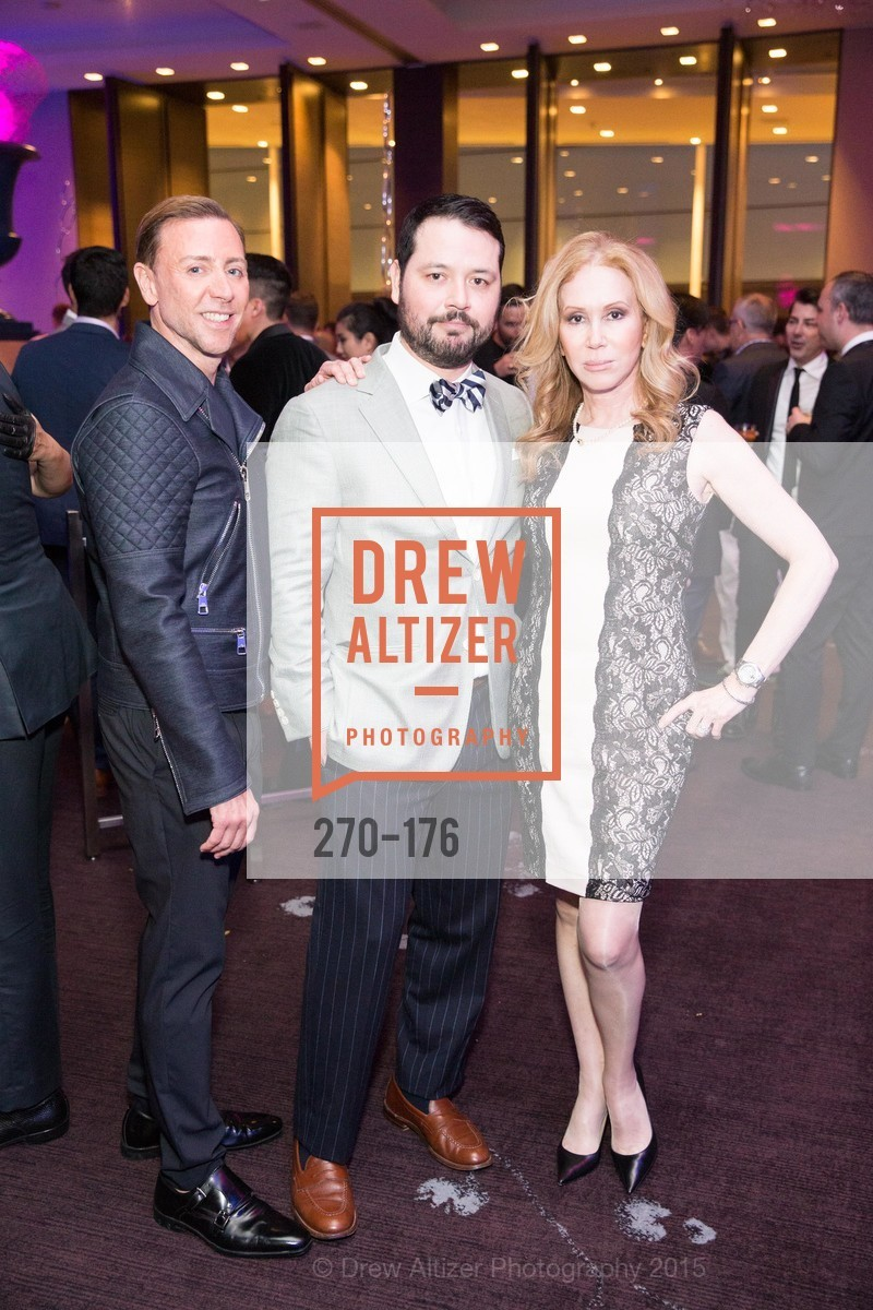 Mark Rhoades, Brandon Hernandez, Sophie Azouaou, VIP Pride Celebration 2015, St. Regis, June 18th, 2015,Drew Altizer, Drew Altizer Photography, full-service agency, private events, San Francisco photographer, photographer california