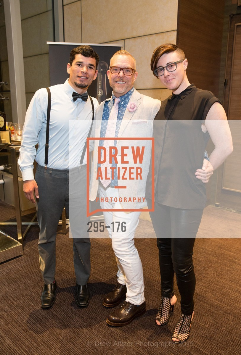 Justin Orozco, Richard Westbrook, Rebecca Frank, VIP Pride Celebration 2015, St. Regis, June 18th, 2015,Drew Altizer, Drew Altizer Photography, full-service agency, private events, San Francisco photographer, photographer california