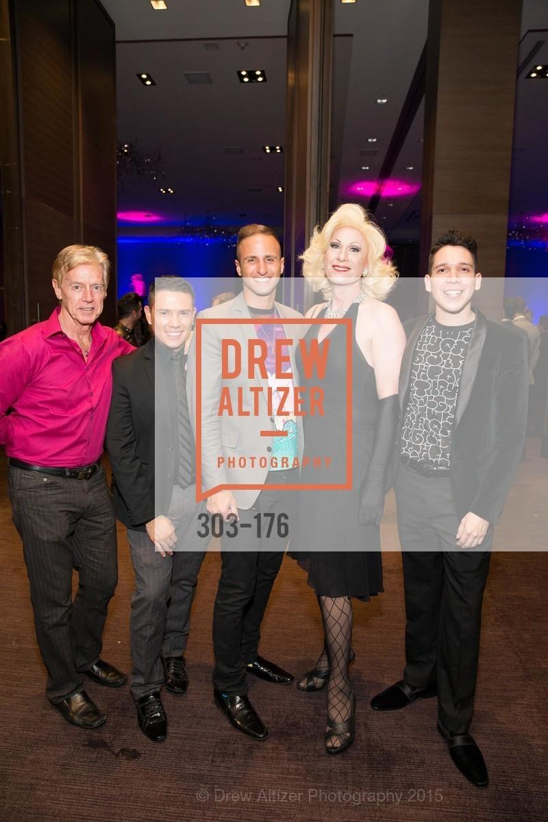 Ken Henderson, Ari Kalsayan, Donna Sachet, Nicholas Gonzalez, VIP Pride Celebration 2015, St. Regis, June 18th, 2015