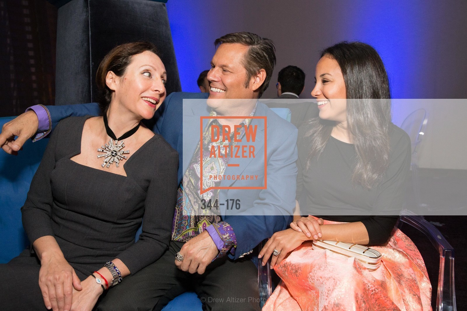 Clara Shayevich, Mark Calvano, Bahya Oumil-Murad, VIP Pride Celebration 2015, St. Regis, June 18th, 2015,Drew Altizer, Drew Altizer Photography, full-service agency, private events, San Francisco photographer, photographer california