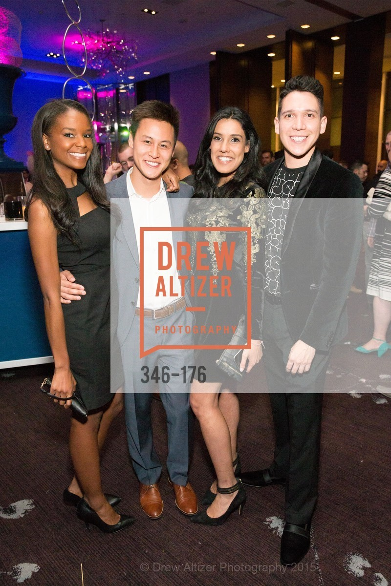 Tyler Christovale, Andrew Nguyen, Vishalli Loomba, Nicholas Gonzalez, VIP Pride Celebration 2015, St. Regis, June 18th, 2015,Drew Altizer, Drew Altizer Photography, full-service agency, private events, San Francisco photographer, photographer california
