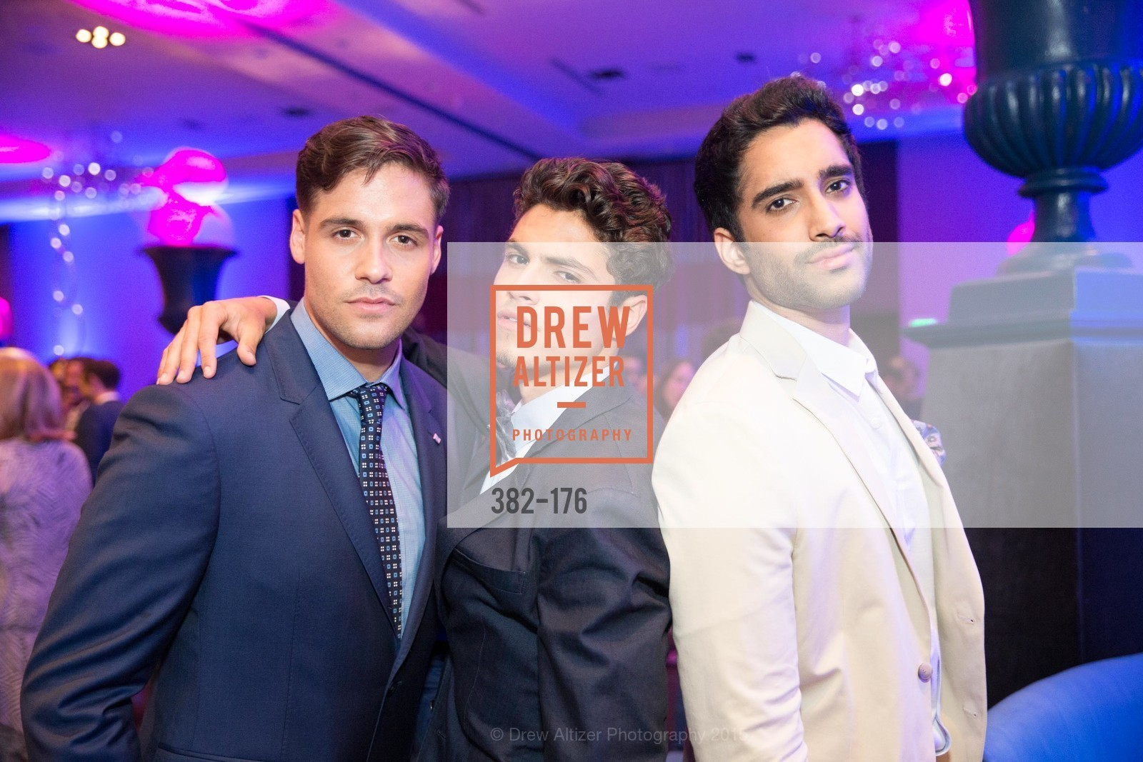 Blake Mason, Brian Brigantti, Sukh Man, VIP Pride Celebration 2015, St. Regis, June 18th, 2015,Drew Altizer, Drew Altizer Photography, full-service agency, private events, San Francisco photographer, photographer california