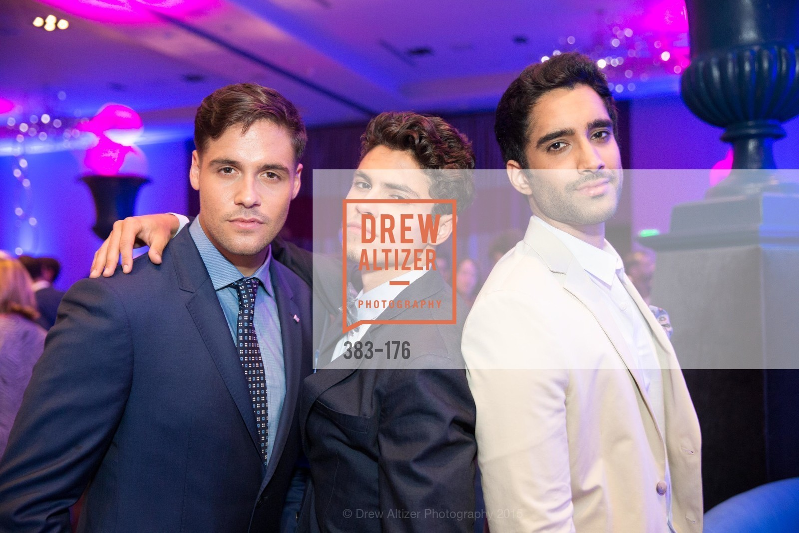 Blake Mason, Brian Brigantti, Sukh Man, VIP Pride Celebration 2015, St. Regis, June 18th, 2015