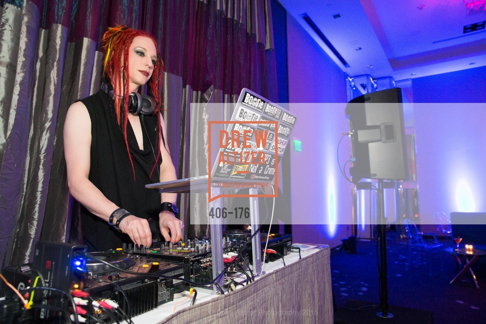 DJ Adrian From Bootie SF, VIP Pride Celebration 2015, St. Regis, June 18th, 2015,Drew Altizer, Drew Altizer Photography, full-service agency, private events, San Francisco photographer, photographer california