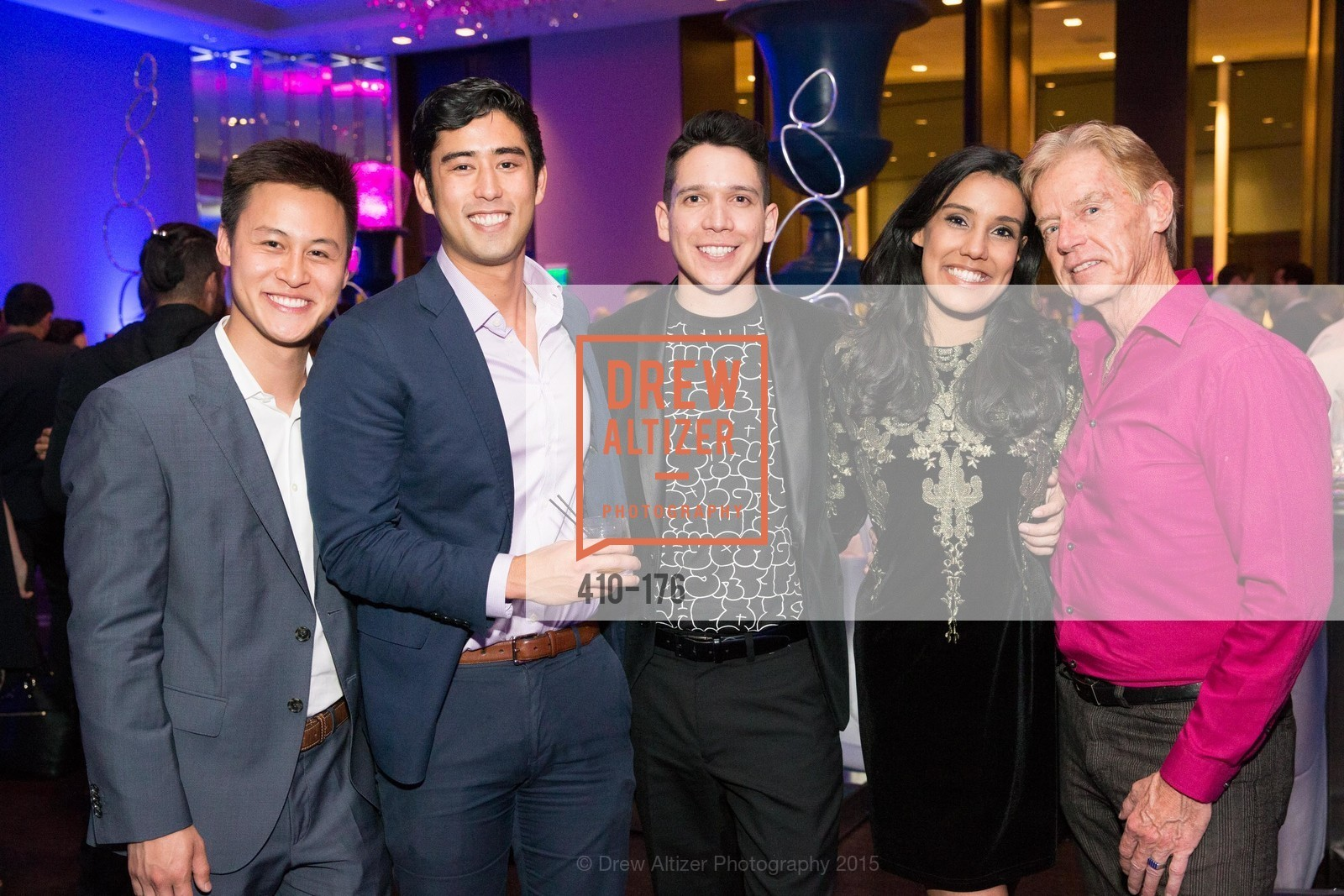 Andrew Nguyen, Alex Putinaka, Nicholas Gonzalez, Vishalli Loomba, Ken Henderson, VIP Pride Celebration 2015, St. Regis, June 18th, 2015,Drew Altizer, Drew Altizer Photography, full-service agency, private events, San Francisco photographer, photographer california