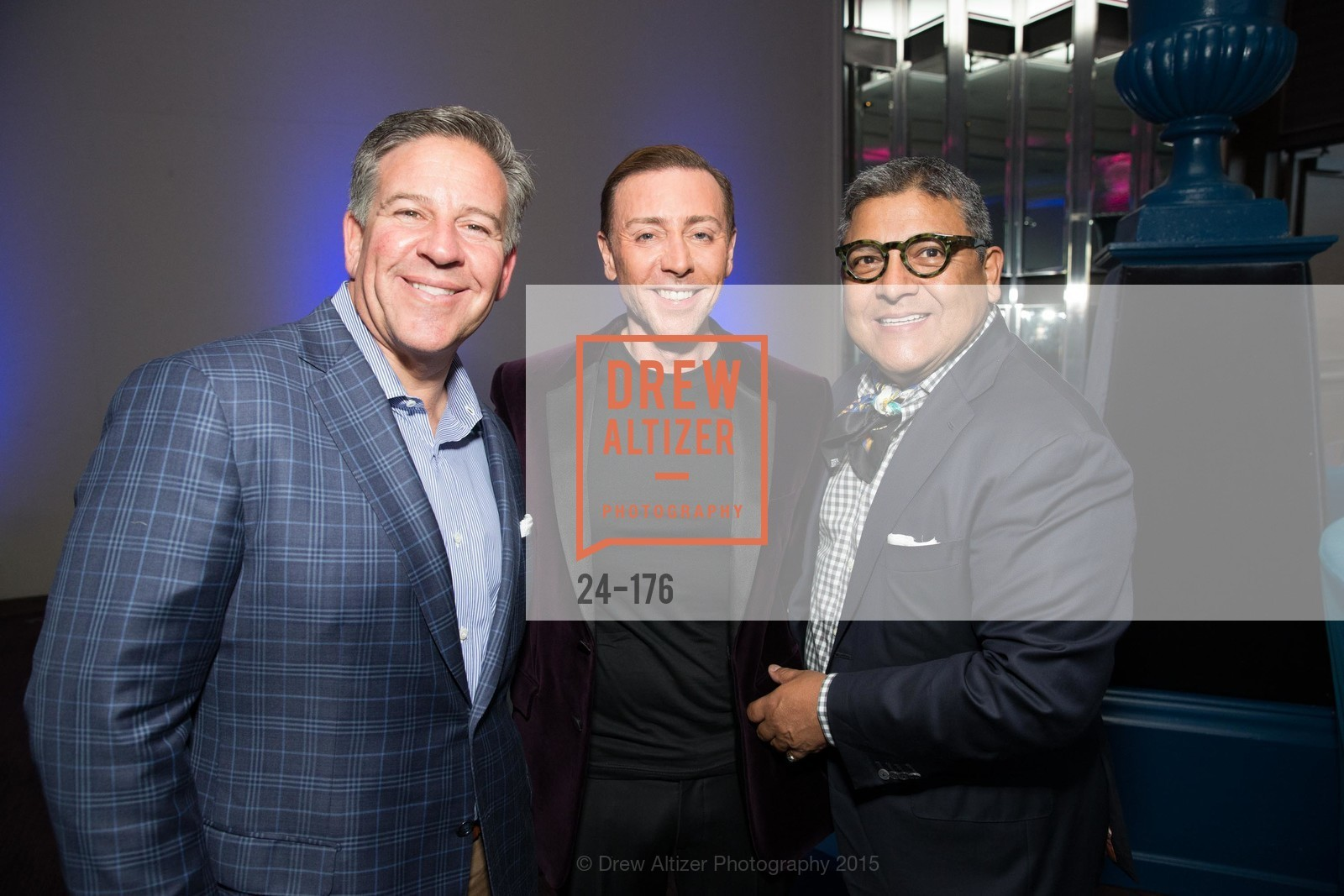 Gregg Lynn, Mark Rhoades, Riccardo Benavides, VIP Pride Celebration 2015, St. Regis, June 18th, 2015