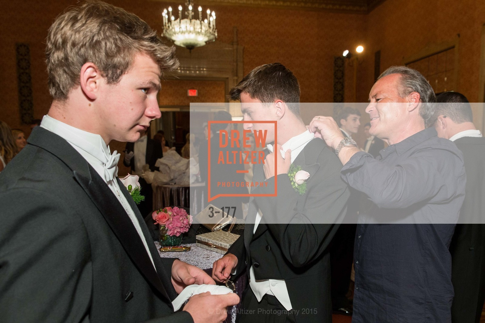 TJ Polite, Jack Kariotis, Jeff Cusack, The 2015 San Francisco Debutante Ball, The Westin St. Francis San Francisco Union Square. 335 Powell St, June 20th, 2015,Drew Altizer, Drew Altizer Photography, full-service agency, private events, San Francisco photographer, photographer california
