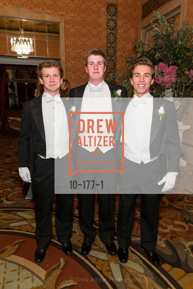 TJ Polite, Jack Travers, Connor King-Roberts, The 2015 San Francisco Debutante Ball, The Westin St. Francis San Francisco Union Square. 335 Powell St, June 20th, 2015,Drew Altizer, Drew Altizer Photography, full-service agency, private events, San Francisco photographer, photographer california