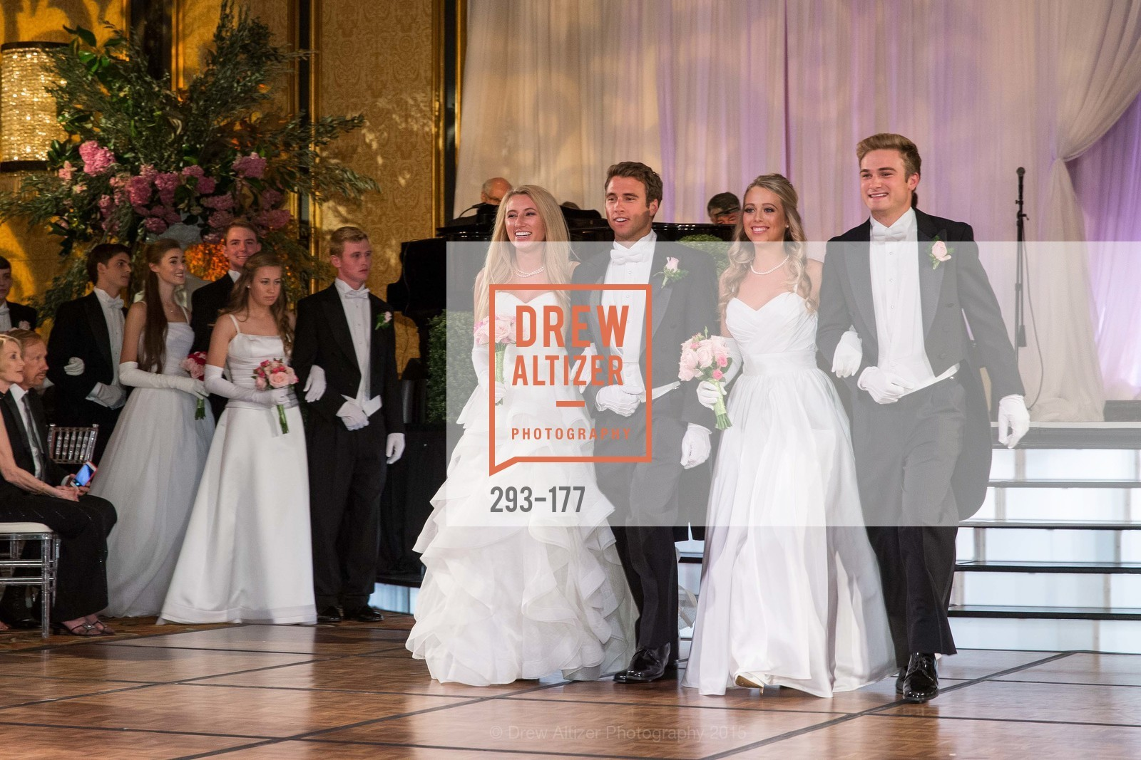 Mary Grinnell, Michael Grinnell II, Elizabeth Grayson, Henry Griffith Callender, The 2015 San Francisco Debutante Ball, The Westin St. Francis San Francisco Union Square. 335 Powell St, June 20th, 2015,Drew Altizer, Drew Altizer Photography, full-service agency, private events, San Francisco photographer, photographer california