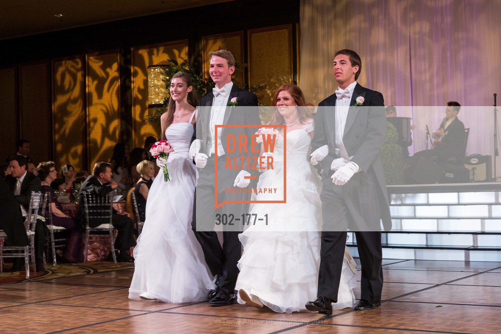 Madeleine Lamm, William HIbbard Dana III, Allaire Kruse, Daniel Conte, The 2015 San Francisco Debutante Ball, The Westin St. Francis San Francisco Union Square. 335 Powell St, June 20th, 2015,Drew Altizer, Drew Altizer Photography, full-service agency, private events, San Francisco photographer, photographer california