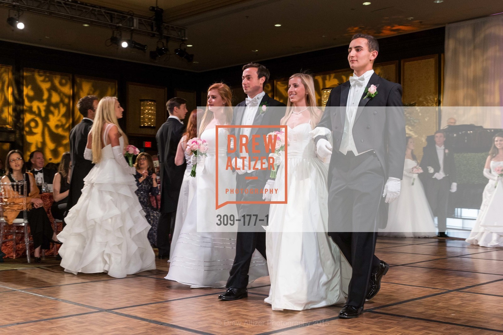 Camille Rich, Kevin Michael Mannix II, Jennifer Suzanne Reynolds, Maxwell Tucker Brenner, The 2015 San Francisco Debutante Ball, The Westin St. Francis San Francisco Union Square. 335 Powell St, June 20th, 2015,Drew Altizer, Drew Altizer Photography, full-service agency, private events, San Francisco photographer, photographer california