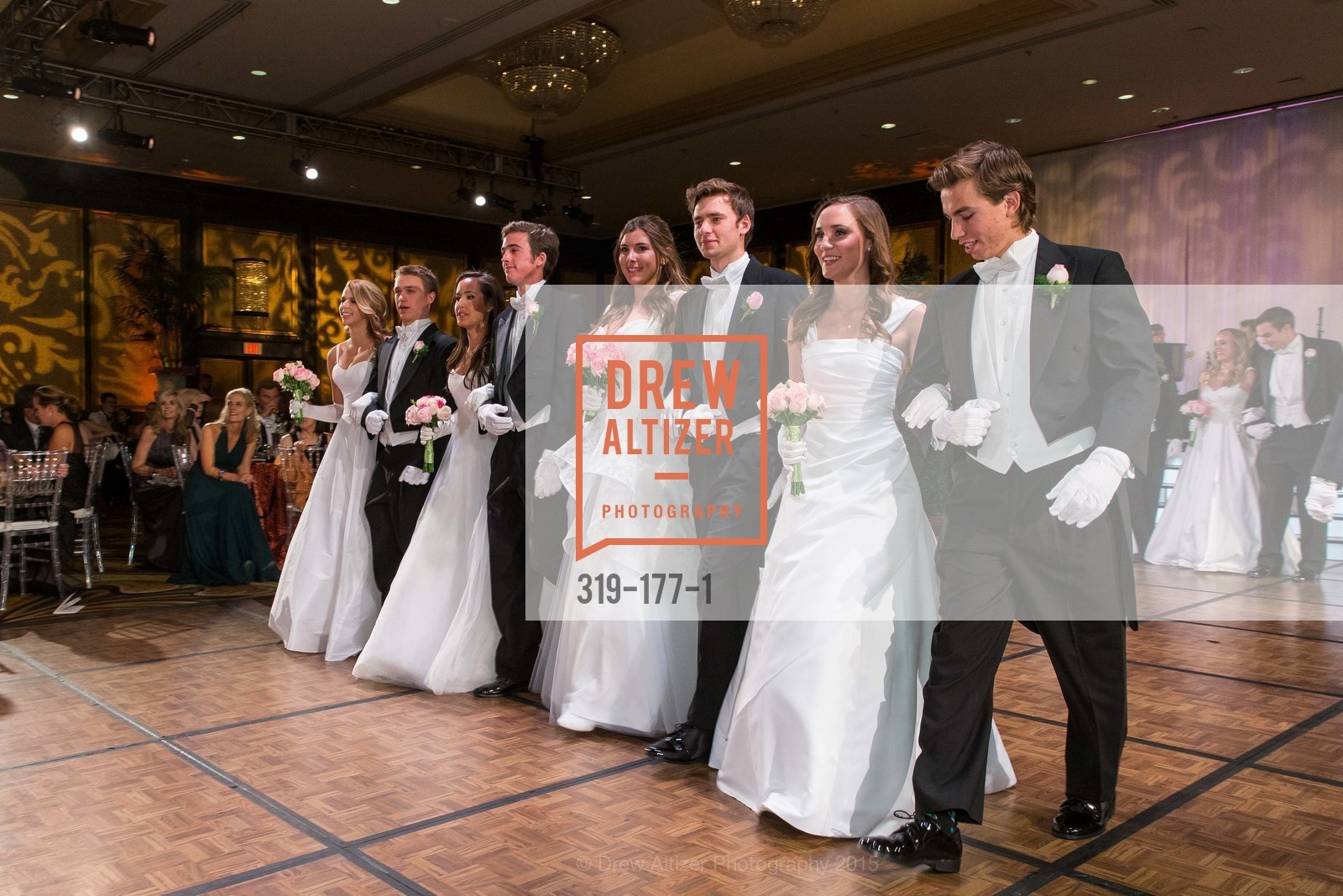Elizabeth Grayson, Henry Griffith Callender, Solange Soward, Joseph Jennison Ladd, Diana Silvestri, Brendan William Dunlap, Connolly Grace Steigerwald, Connor Thomas King-Roberts, The 2015 San Francisco Debutante Ball, The Westin St. Francis San Francisco Union Square. 335 Powell St, June 20th, 2015,Drew Altizer, Drew Altizer Photography, full-service agency, private events, San Francisco photographer, photographer california