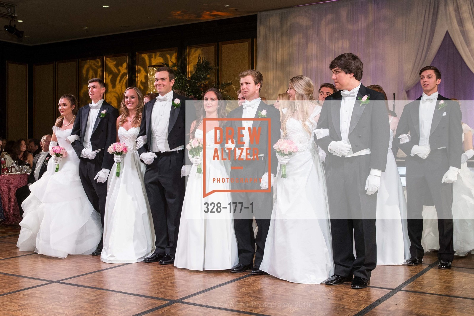 Jennifer Hannah Baylis, Elias Morrison Schwartz, Katarina Lina Churich, Peter James Campana, Hannah Elizabeth Cusack, TJ Polite, Julia Marley Chenette, Michael Jeffrey King, The 2015 San Francisco Debutante Ball, The Westin St. Francis San Francisco Union Square. 335 Powell St, June 20th, 2015,Drew Altizer, Drew Altizer Photography, full-service agency, private events, San Francisco photographer, photographer california