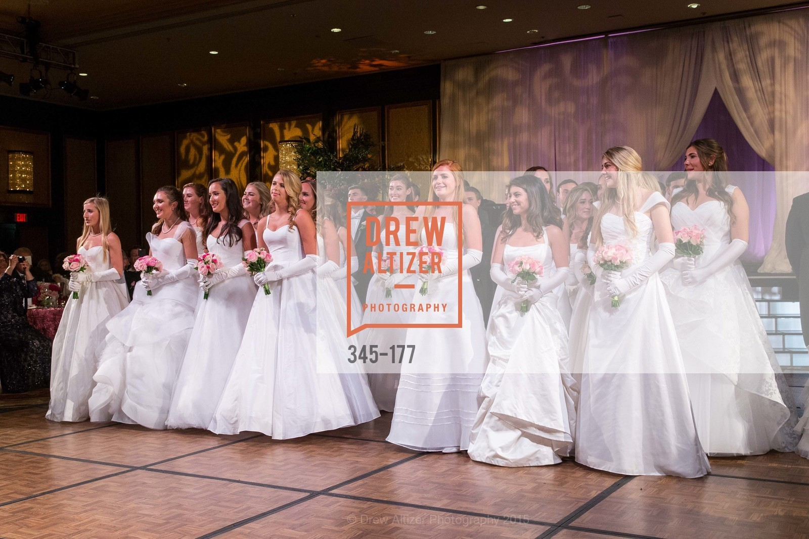 Jennifer Suzanne Reynolds, Jennifer Hannah Baylis, Solange Celeste Soward, Madeleine Elizabeth Lamm, Camille Anne Rich, Paige Alexandra Silverman, Julia Marley Chenette, Lindsey Marie Weber, The 2015 San Francisco Debutante Ball, The Westin St. Francis San Francisco Union Square. 335 Powell St, June 20th, 2015,Drew Altizer, Drew Altizer Photography, full-service agency, private events, San Francisco photographer, photographer california