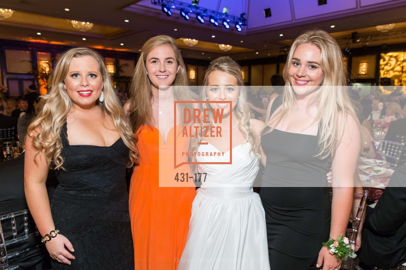 Christina Canady, Elizabeth Grayson, Alexandra Robertson, The 2015 San Francisco Debutante Ball, The Westin St. Francis San Francisco Union Square. 335 Powell St, June 20th, 2015,Drew Altizer, Drew Altizer Photography, full-service agency, private events, San Francisco photographer, photographer california