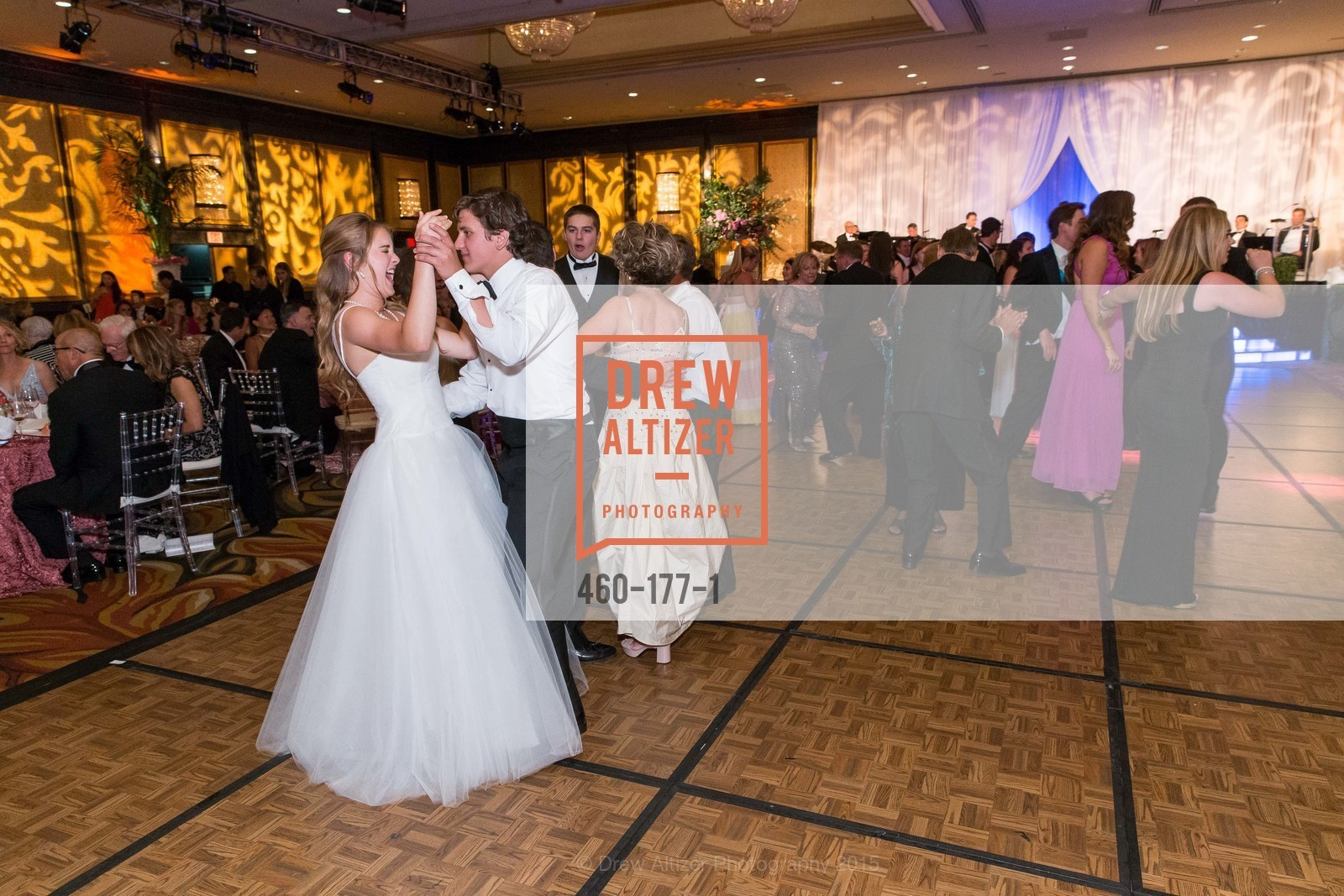 Dance Floor, The 2015 San Francisco Debutante Ball, The Westin St. Francis San Francisco Union Square. 335 Powell St, June 20th, 2015,Drew Altizer, Drew Altizer Photography, full-service event agency, private events, San Francisco photographer, photographer California