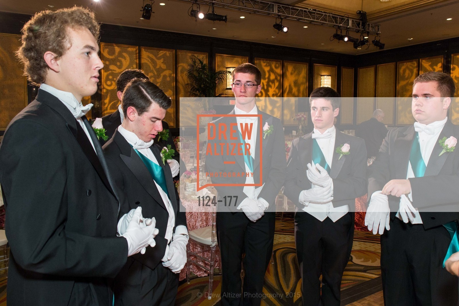 Liam Bichoff, Aristotle Boosalis, Eoin Lyons, Jess Hagler, Mathew Pashby, The 2015 San Francisco Debutante Ball, The Westin St. Francis San Francisco Union Square. 335 Powell St, June 20th, 2015,Drew Altizer, Drew Altizer Photography, full-service agency, private events, San Francisco photographer, photographer california