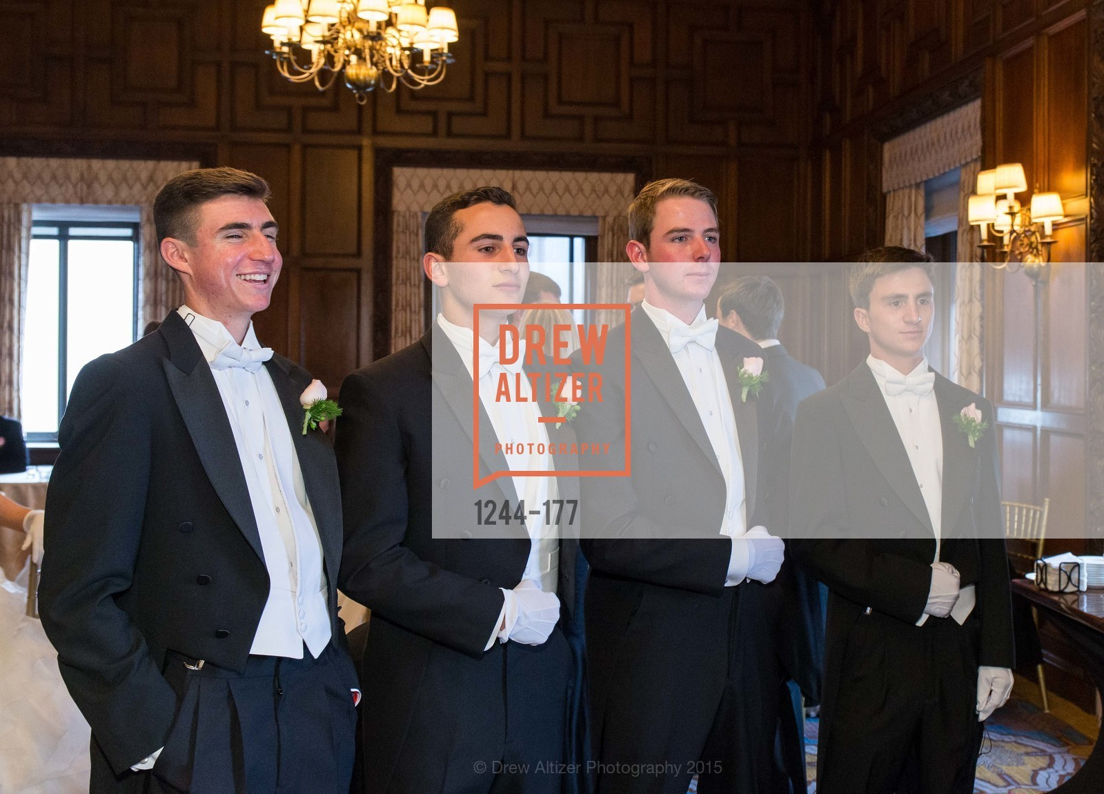 Elias Morrison Schwartz, Maxwell Tucker Brenner, William HIbbard Dana III, Jack Andrew Kariotis, The 2015 San Francisco Debutante Ball, The Westin St. Francis San Francisco Union Square. 335 Powell St, June 20th, 2015,Drew Altizer, Drew Altizer Photography, full-service agency, private events, San Francisco photographer, photographer california