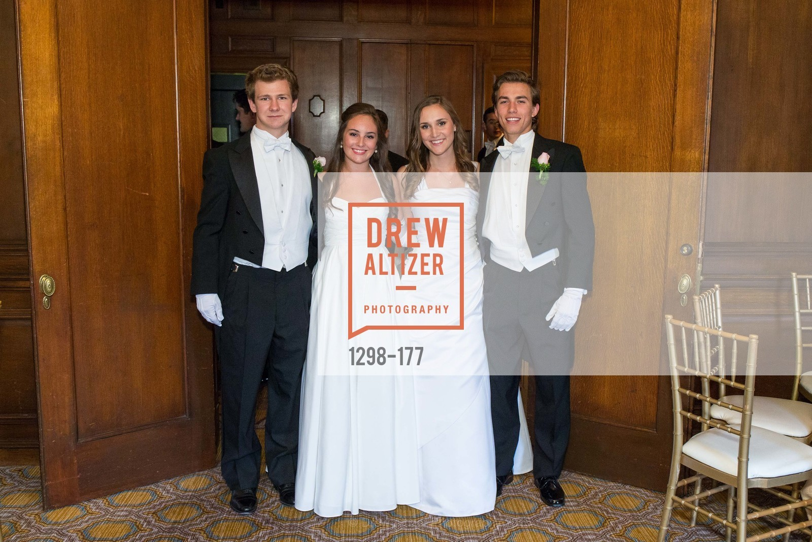 TJ Polite, Hailey Cusack, Connolly Steigerwald, Connor King-Roberts, The 2015 San Francisco Debutante Ball, The Westin St. Francis San Francisco Union Square. 335 Powell St, June 20th, 2015,Drew Altizer, Drew Altizer Photography, full-service agency, private events, San Francisco photographer, photographer california