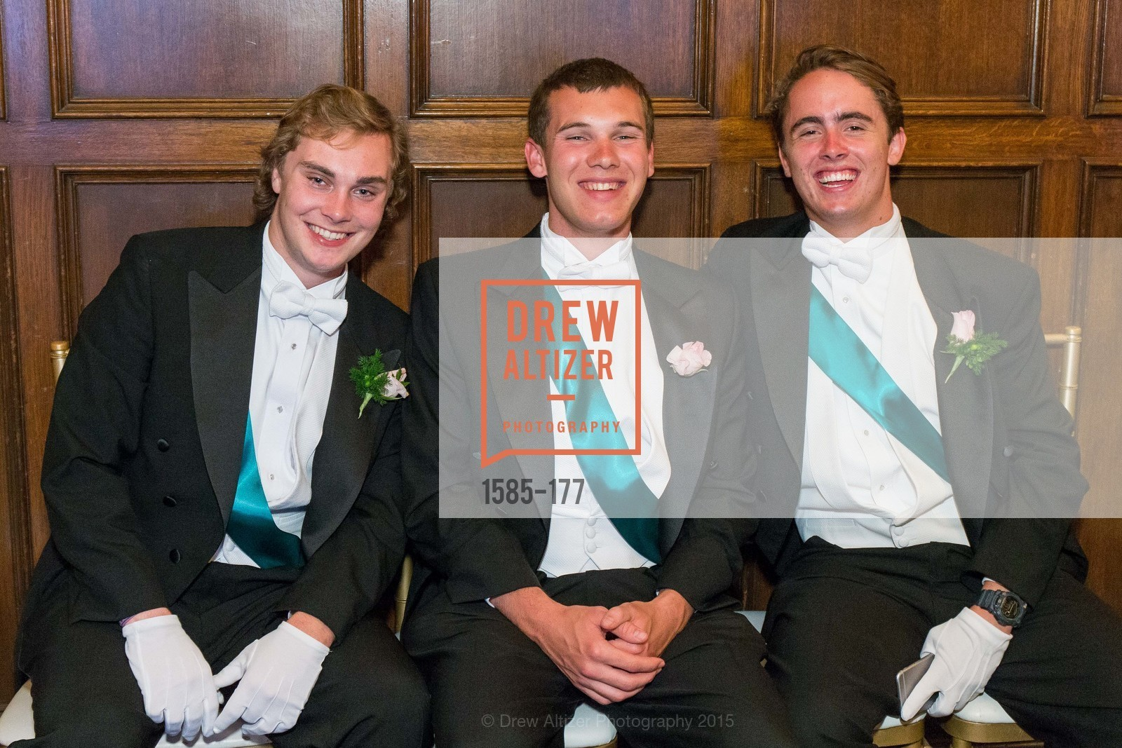 Cole Steigerwald, Paul Maxwell, Henry Buckingham, The 2015 San Francisco Debutante Ball, The Westin St. Francis San Francisco Union Square. 335 Powell St, June 20th, 2015,Drew Altizer, Drew Altizer Photography, full-service agency, private events, San Francisco photographer, photographer california