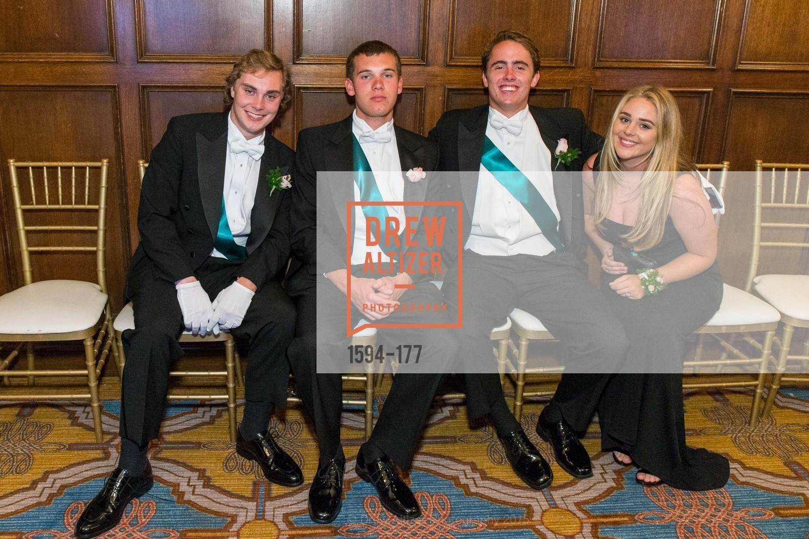 Cole Steigerwald, Paul Maxwell, Henry Buckingham, Alexandra Robertson, The 2015 San Francisco Debutante Ball, The Westin St. Francis San Francisco Union Square. 335 Powell St, June 20th, 2015,Drew Altizer, Drew Altizer Photography, full-service agency, private events, San Francisco photographer, photographer california