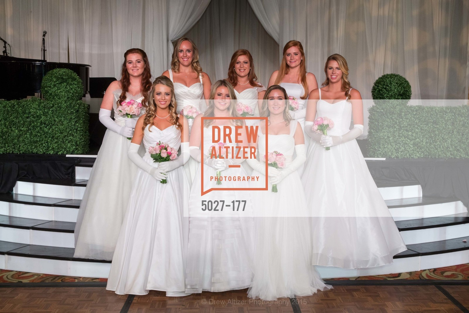 Kate Harris, Katarina Churich, Allaire Kruse, Camille Rich, Lindsey Marie Weber, The 2015 San Francisco Debutante Ball, The Westin St. Francis San Francisco Union Square. 335 Powell St, June 20th, 2015,Drew Altizer, Drew Altizer Photography, full-service agency, private events, San Francisco photographer, photographer california