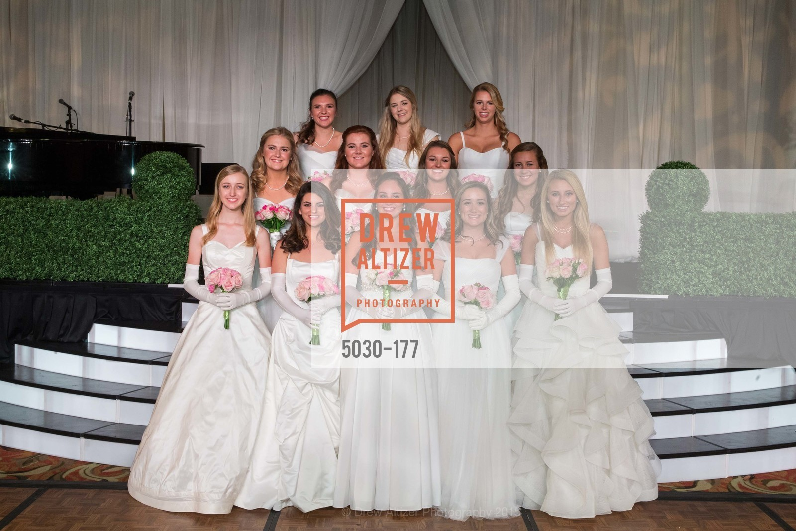 Brooke Raabe, Paige Silverman, Hailey Cusack, Lily Ostler, Mary Grinnell, Sara Scannell, Kendall Finnegan, Rachael Jayne Maier, Sarah Jackmauh, Jennifer Baylis, Julia Chenette, Lindsey Marie Weber, The 2015 San Francisco Debutante Ball, The Westin St. Francis San Francisco Union Square. 335 Powell St, June 20th, 2015,Drew Altizer, Drew Altizer Photography, full-service agency, private events, San Francisco photographer, photographer california