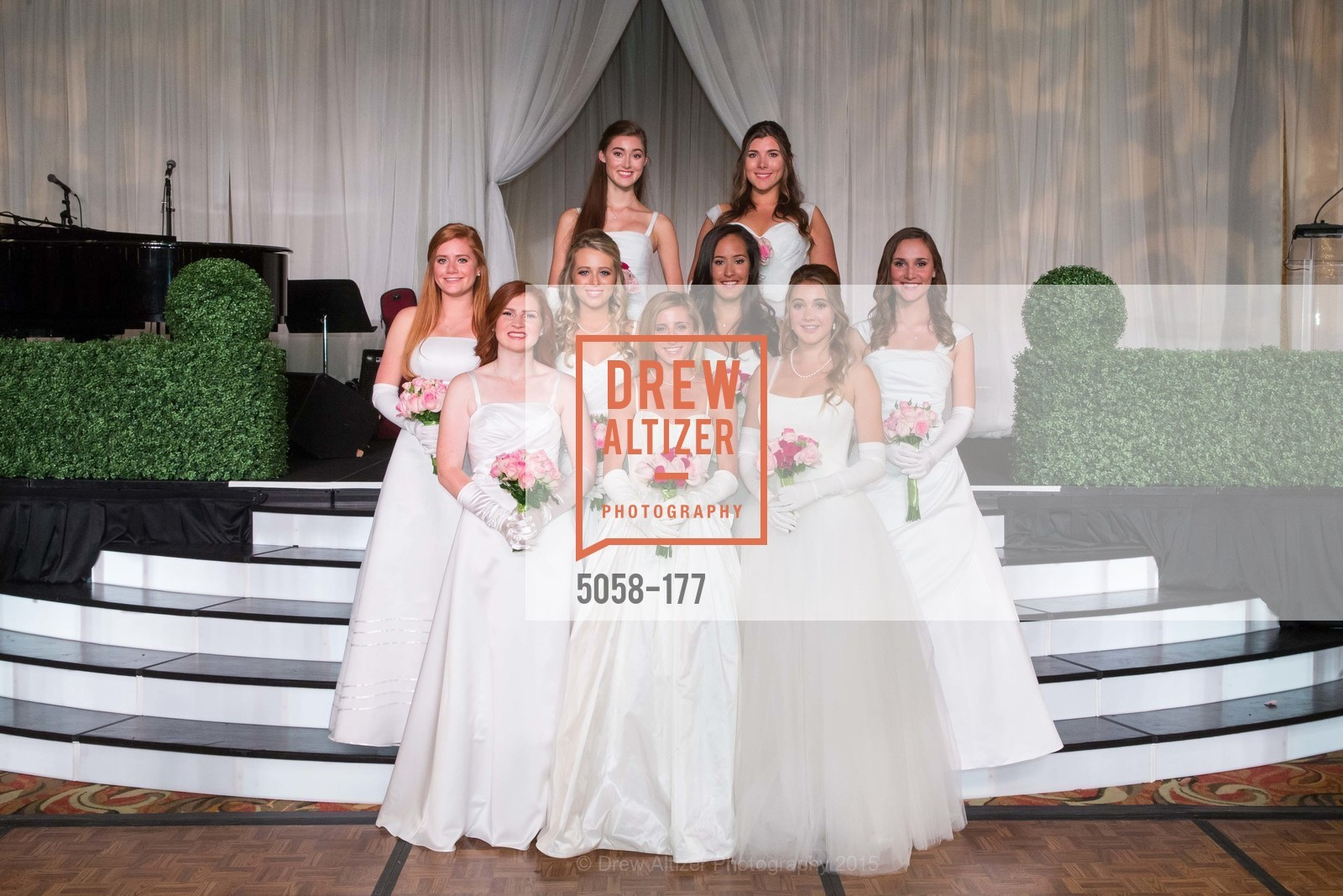 Curry Fisher, Jennifer Reynolds, Paloma Palmer, Camille Rich, Elizabeth Grayson, Solange Soward, Connolly Steigerwald, The 2015 San Francisco Debutante Ball, The Westin St. Francis San Francisco Union Square. 335 Powell St, June 20th, 2015,Drew Altizer, Drew Altizer Photography, full-service agency, private events, San Francisco photographer, photographer california