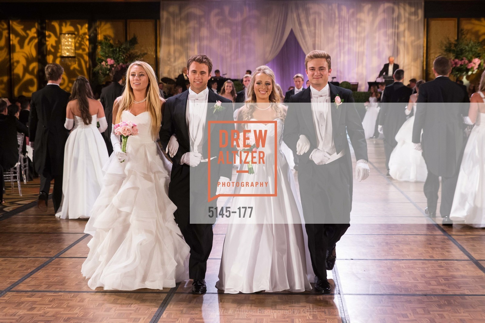 Mary Elizabeth Oldham Grinnell, Michael O'Toole Grinnell II, Elizabeth Mason Grayson, Henry Griffith Callender, The 2015 San Francisco Debutante Ball, The Westin St. Francis San Francisco Union Square. 335 Powell St, June 20th, 2015,Drew Altizer, Drew Altizer Photography, full-service agency, private events, San Francisco photographer, photographer california