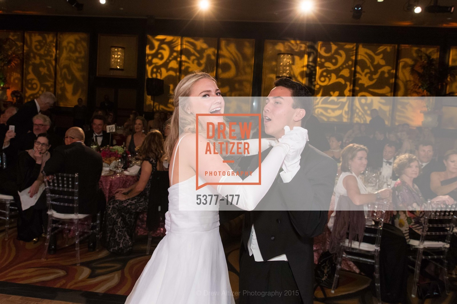 Sara Reeves Scannell, Kai Otto Fukami Vogel, The 2015 San Francisco Debutante Ball, The Westin St. Francis San Francisco Union Square. 335 Powell St, June 20th, 2015