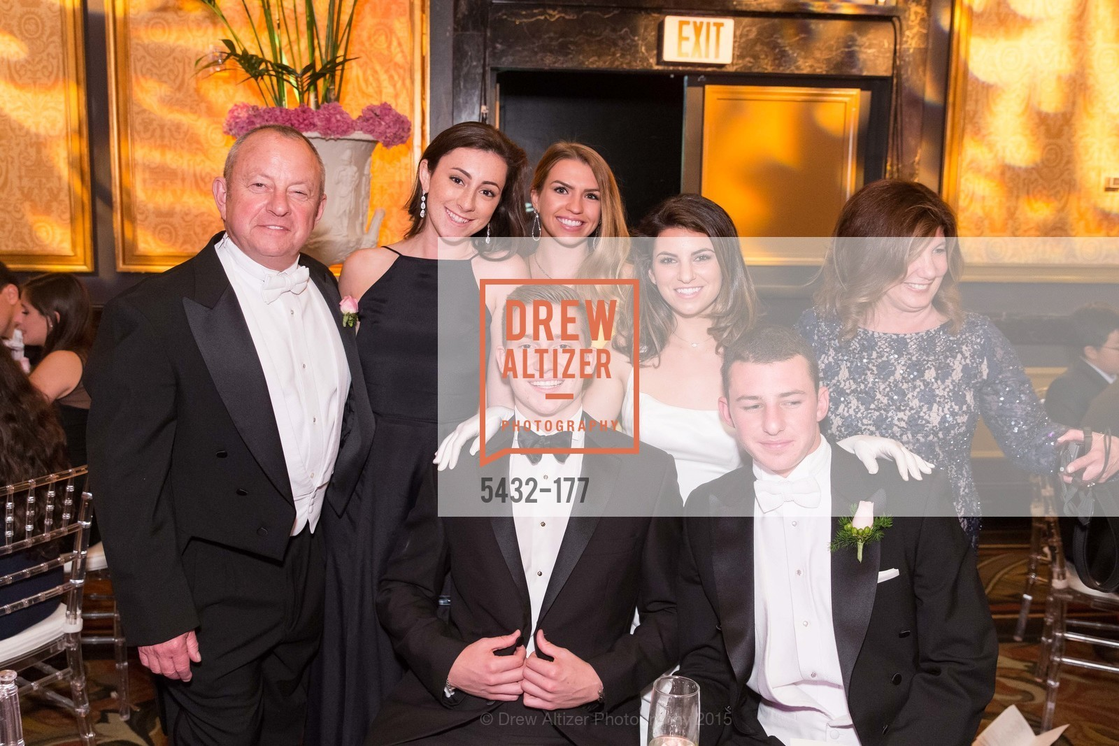 Mark David Silverman, Paige Alexandra Silverman, Parker Wyatt Silverman, Vicki Silverman, The 2015 San Francisco Debutante Ball, The Westin St. Francis San Francisco Union Square. 335 Powell St, June 20th, 2015,Drew Altizer, Drew Altizer Photography, full-service agency, private events, San Francisco photographer, photographer california