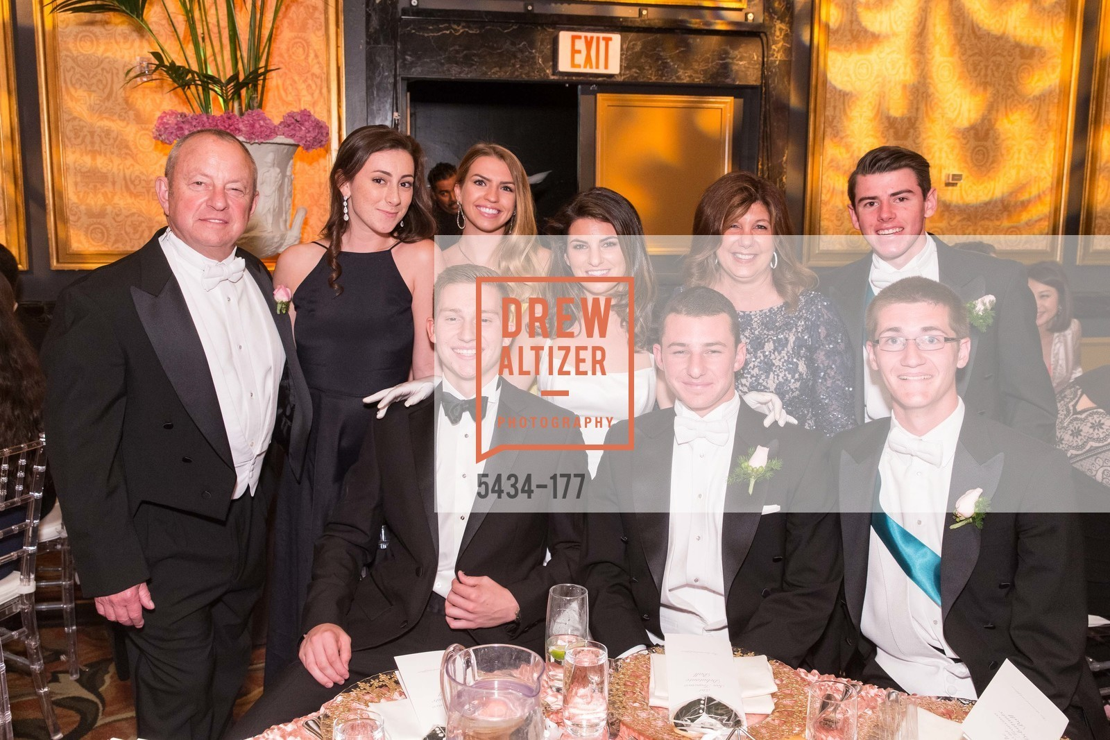 Mark David Silverman, Paige Alexandra Silverman, Parker Wyatt Silverman, Vicki Silverman, The 2015 San Francisco Debutante Ball, The Westin St. Francis San Francisco Union Square. 335 Powell St, June 20th, 2015,Drew Altizer, Drew Altizer Photography, full-service event agency, private events, San Francisco photographer, photographer California