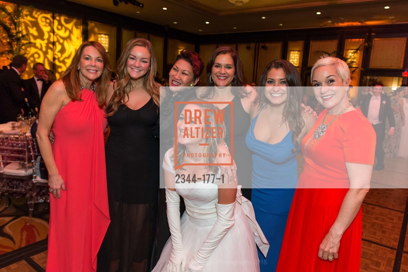 Veronica Verklin, Kim Kristoff, Lisa Monetta, Lily Ostler, Jacqueline Monetta, Janet Ostler, The 2015 San Francisco Debutante Ball, The Westin St. Francis San Francisco Union Square. 335 Powell St, June 20th, 2015,Drew Altizer, Drew Altizer Photography, full-service agency, private events, San Francisco photographer, photographer california
