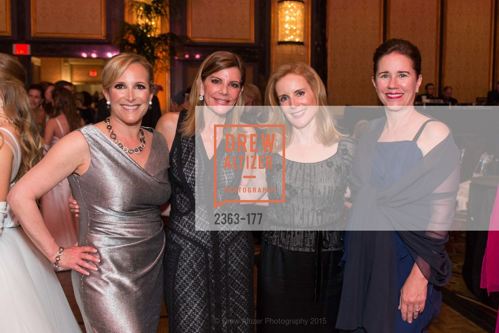 Lorre Erlick, Debbie Reynolds, Hilary Powers Steinberg, Stacey Case, The 2015 San Francisco Debutante Ball, The Westin St. Francis San Francisco Union Square. 335 Powell St, June 20th, 2015,Drew Altizer, Drew Altizer Photography, full-service agency, private events, San Francisco photographer, photographer california