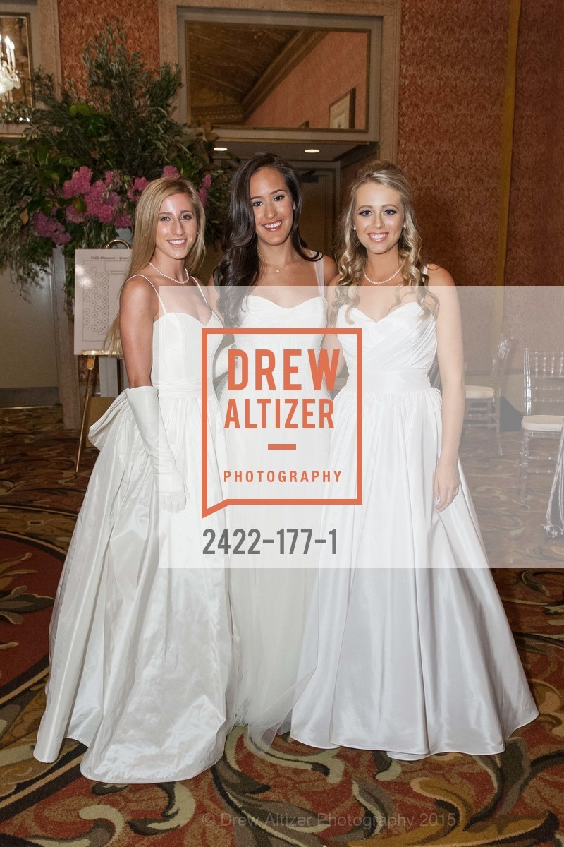 Jennifer Reynolds, Solange Soward, Elizabeth Grayson, The 2015 San Francisco Debutante Ball, The Westin St. Francis San Francisco Union Square. 335 Powell St, June 20th, 2015,Drew Altizer, Drew Altizer Photography, full-service agency, private events, San Francisco photographer, photographer california
