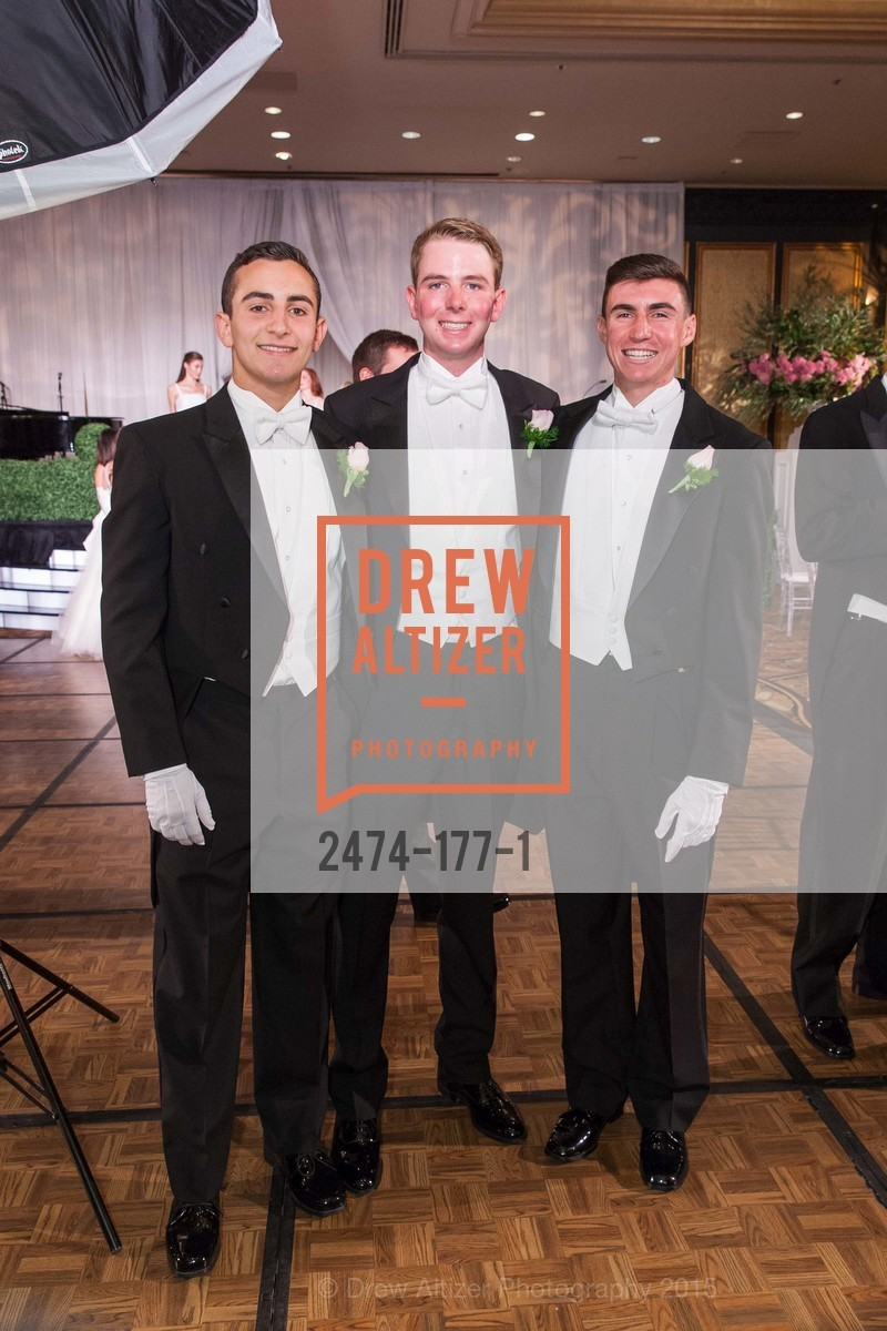 Maxwell Tucker Brenner, William HIbbard Dana III, Elias Morrison Schwartz, The 2015 San Francisco Debutante Ball, The Westin St. Francis San Francisco Union Square. 335 Powell St, June 20th, 2015,Drew Altizer, Drew Altizer Photography, full-service agency, private events, San Francisco photographer, photographer california