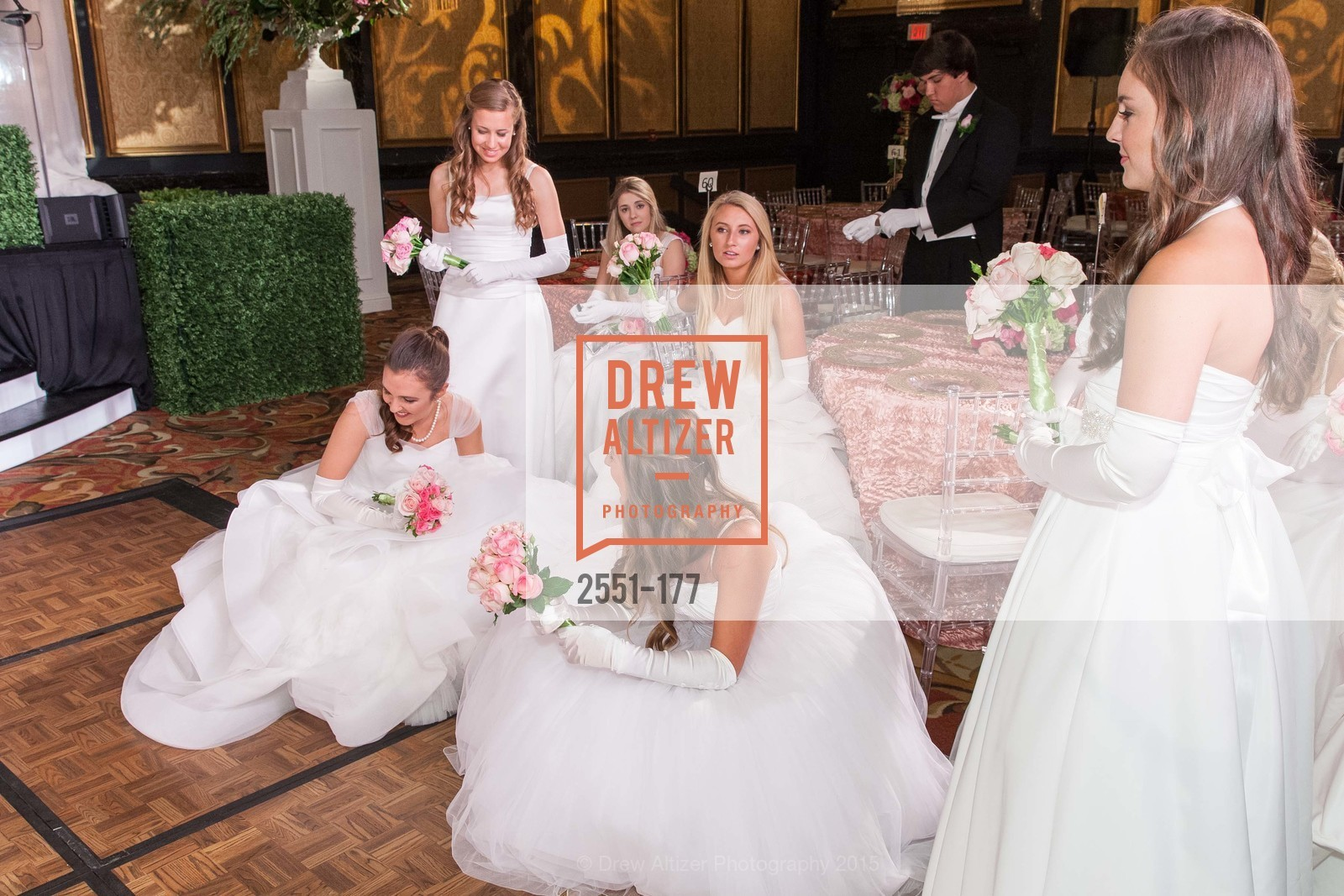 Jennifer Hannah Baylis, Sarah Elisabeth Jackmauh, Julia Marley Chenette, Mary Elizabeth Grinnell, The 2015 San Francisco Debutante Ball, The Westin St. Francis San Francisco Union Square. 335 Powell St, June 20th, 2015,Drew Altizer, Drew Altizer Photography, full-service agency, private events, San Francisco photographer, photographer california