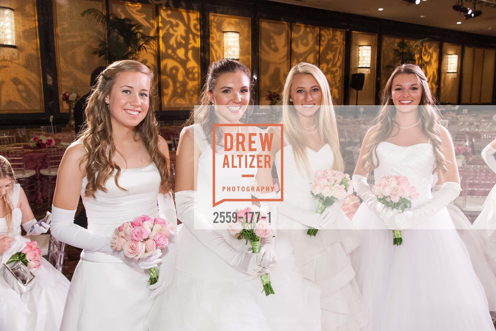 Sarah Elisabeth Jackmauh, Jennifer Hannah Baylis, Mary Elizabeth Grinnell, Rachael Jayne Maier, The 2015 San Francisco Debutante Ball, The Westin St. Francis San Francisco Union Square. 335 Powell St, June 20th, 2015