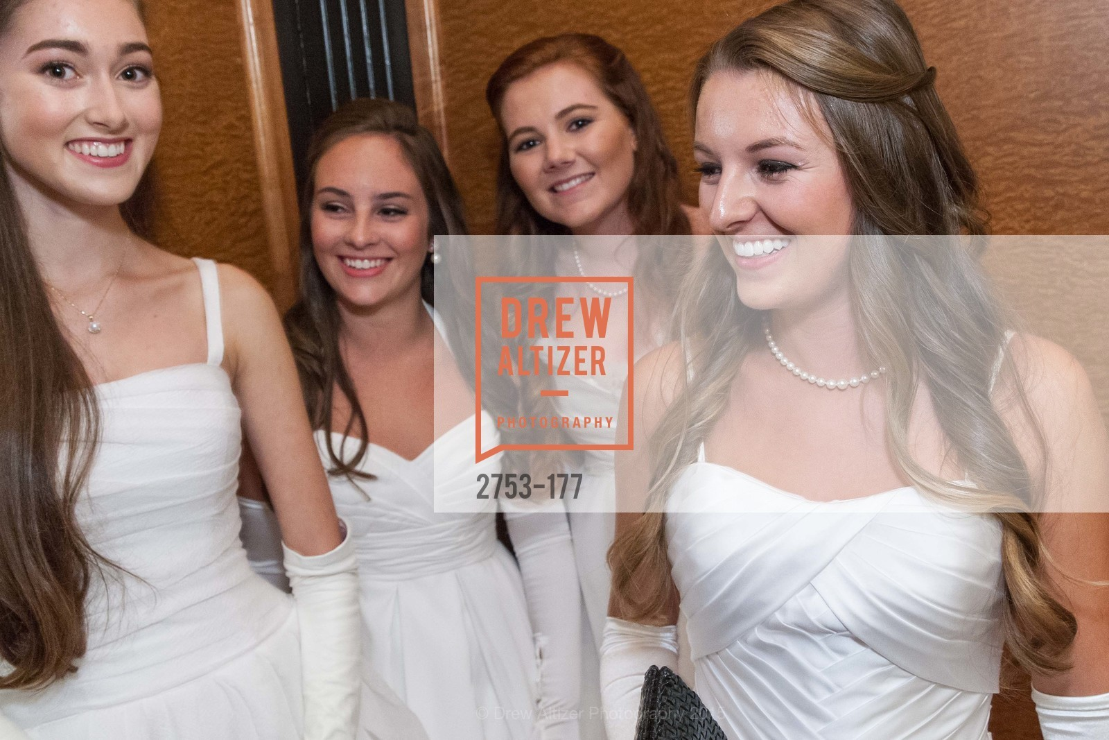 Madeleine Elizabeth Lamm, Hailey Elizabeth Cusack, Kendall Marion Finnegan, Rachael Jayne Maier, The 2015 San Francisco Debutante Ball, The Westin St. Francis San Francisco Union Square. 335 Powell St, June 20th, 2015,Drew Altizer, Drew Altizer Photography, full-service agency, private events, San Francisco photographer, photographer california