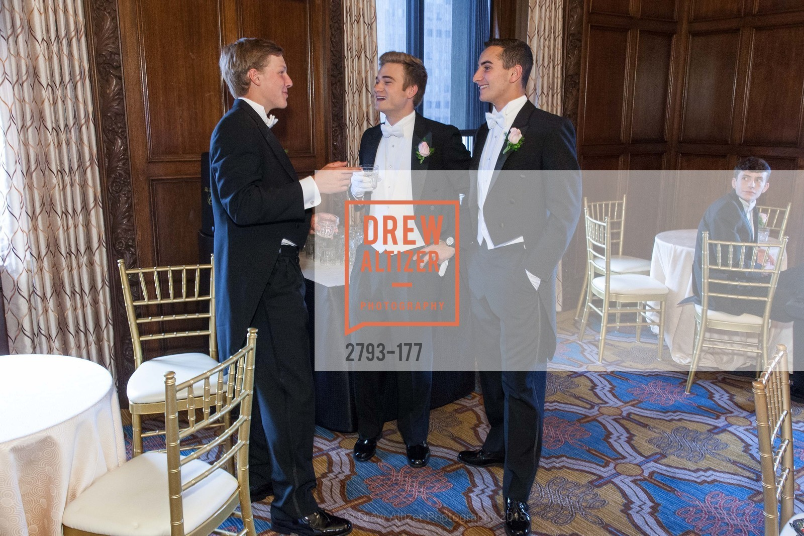 Luke Rosser Edwards, Henry Griffith Callender, Maxwell Tucker Brenner, The 2015 San Francisco Debutante Ball, The Westin St. Francis San Francisco Union Square. 335 Powell St, June 20th, 2015,Drew Altizer, Drew Altizer Photography, full-service agency, private events, San Francisco photographer, photographer california