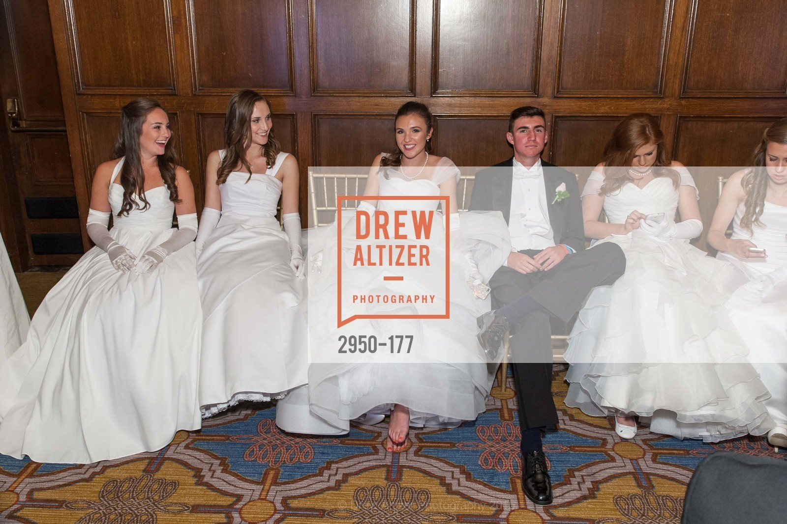 Hailey Elizabeth Cusack, Connolly Grace Steigerwald, Jennifer Hannah Baylis, Elias Morrison Schwartz, The 2015 San Francisco Debutante Ball, The Westin St. Francis San Francisco Union Square. 335 Powell St, June 20th, 2015,Drew Altizer, Drew Altizer Photography, full-service agency, private events, San Francisco photographer, photographer california