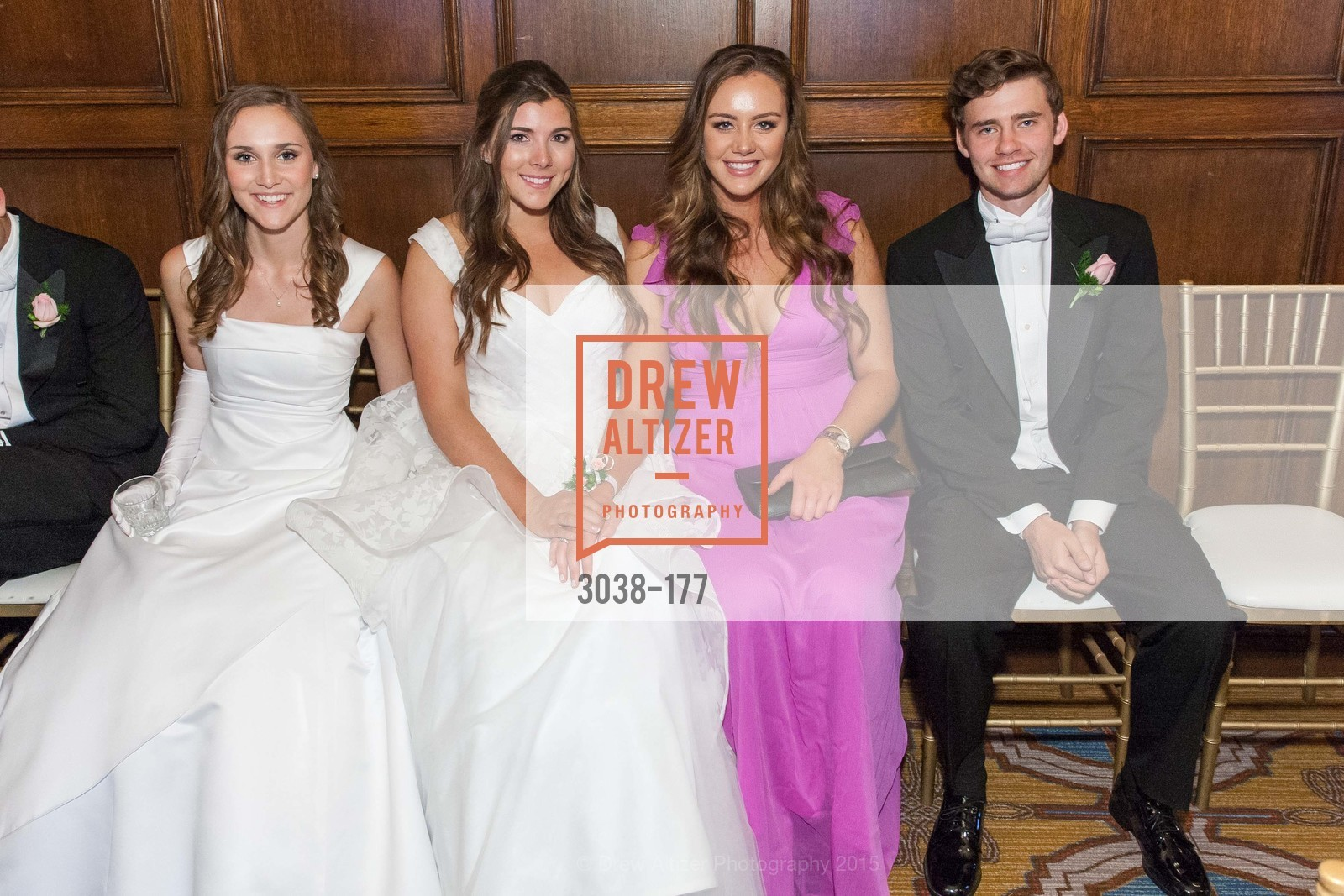 Connolly Grace Steigerwald, Diana Laura Silvestri, Claire Healy, Brendan William Dunlap, The 2015 San Francisco Debutante Ball, The Westin St. Francis San Francisco Union Square. 335 Powell St, June 20th, 2015,Drew Altizer, Drew Altizer Photography, full-service agency, private events, San Francisco photographer, photographer california