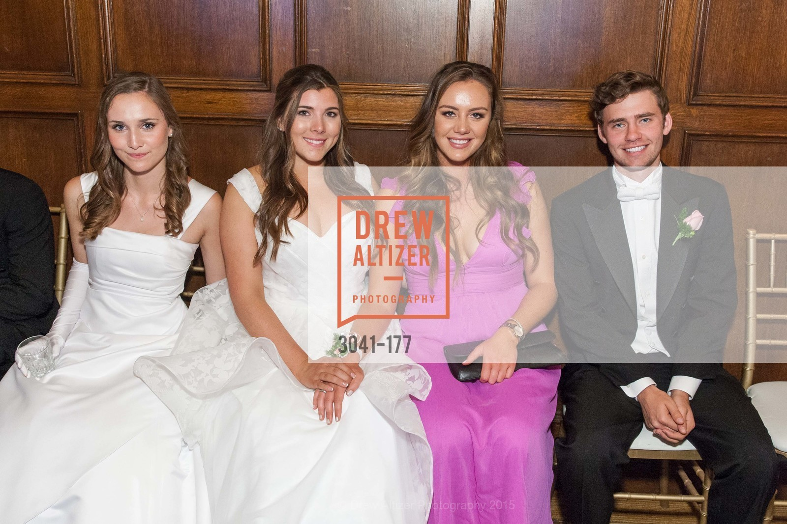 Brendan William Dunlap, Claire Healy, Diana Laura Silvestri, Connolly Grace Steigerwald, The 2015 San Francisco Debutante Ball, The Westin St. Francis San Francisco Union Square. 335 Powell St, June 20th, 2015,Drew Altizer, Drew Altizer Photography, full-service agency, private events, San Francisco photographer, photographer california