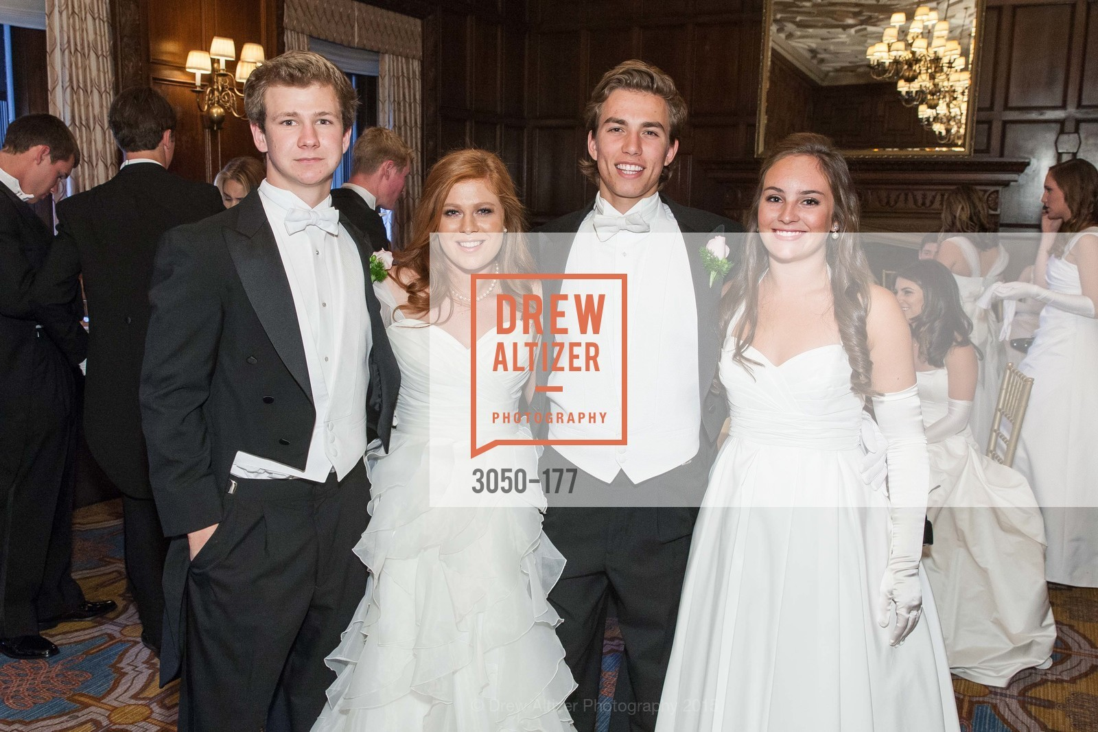 TJ Polite, Allaire Houston Kruse, Connor Thomas King-Roberts, Hailey Elizabeth Cusack, The 2015 San Francisco Debutante Ball, The Westin St. Francis San Francisco Union Square. 335 Powell St, June 20th, 2015,Drew Altizer, Drew Altizer Photography, full-service agency, private events, San Francisco photographer, photographer california