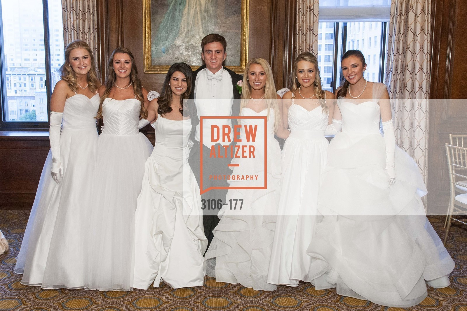 Sara Scannell, Rachael Jayne Maier, Paige Silverman, Jack Andrew Kariotis, Mary Grinnell, Elizabeth Grayson, Jennifer Hannah Baylis, The 2015 San Francisco Debutante Ball, The Westin St. Francis San Francisco Union Square. 335 Powell St, June 20th, 2015,Drew Altizer, Drew Altizer Photography, full-service agency, private events, San Francisco photographer, photographer california