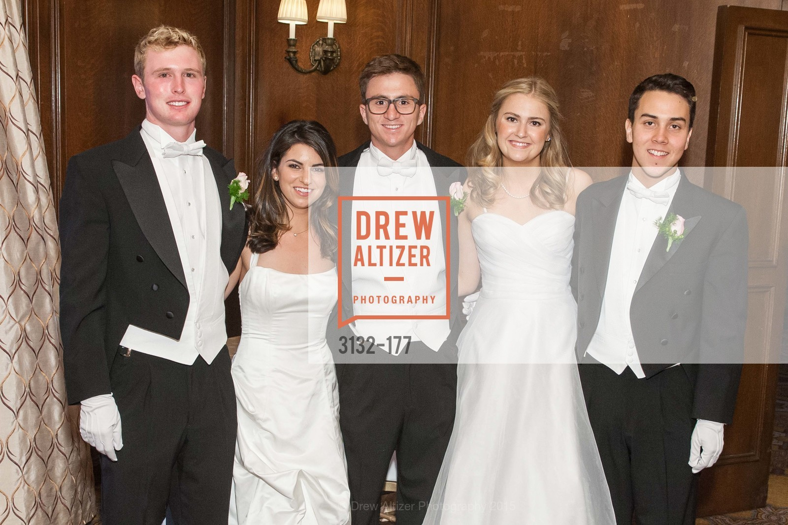 Luca Sullivan, Paige Silverman, Jack Andrew Kariotis, Sara Scannell, Kai Otto Fukami Vogel, The 2015 San Francisco Debutante Ball, The Westin St. Francis San Francisco Union Square. 335 Powell St, June 20th, 2015,Drew Altizer, Drew Altizer Photography, full-service agency, private events, San Francisco photographer, photographer california