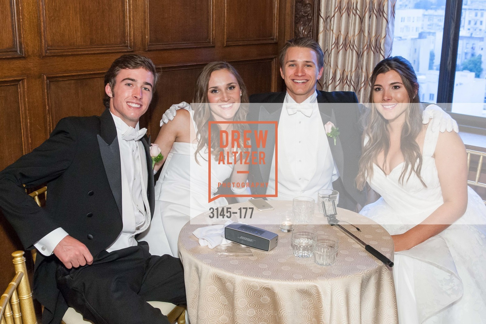 Joseph Jennison Ladd, Connolly Grace Steigerwald, Ryan Nicholas Clark, Diana Laura Silvestri, The 2015 San Francisco Debutante Ball, The Westin St. Francis San Francisco Union Square. 335 Powell St, June 20th, 2015,Drew Altizer, Drew Altizer Photography, full-service agency, private events, San Francisco photographer, photographer california